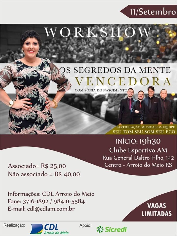 WorkShow em Arroio do Meio