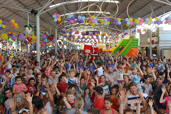 Dália realiza uma das maiores festas de Natal da região