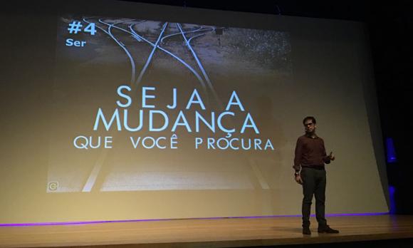 Palestra com Gabriel Carneiro Costa na Univates